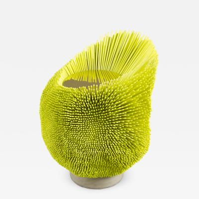 Pia Maria Raeder Flashy yellow Sea Anemone Side Table