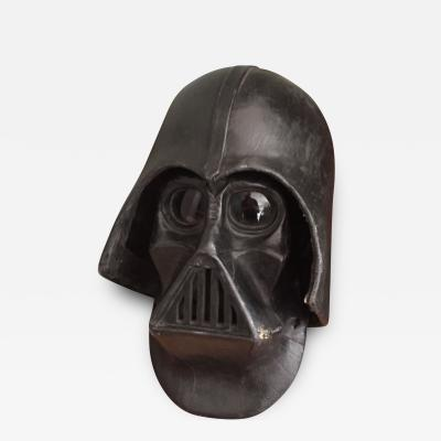 Unknown Artist Star Wars Darth Vader Mask with Helmet