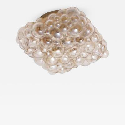 Helena Tynell One of Two Helena Tynell Glass Flush Mount or Sconce for Glash tte Limburg