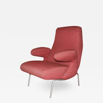 Ernesto Carboni Carboni for Arflex Dolphin Lounge Chair Italy 1950s