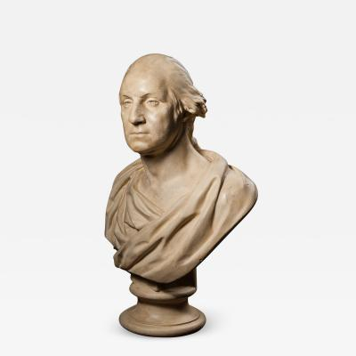 P P Caproni Brother Bust of George Washington after Houdon