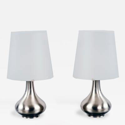 Max Ingrand Fontana Arte Pair of Table Lamps by Max Ingrand 1906 1969 Fontana Arte Italy ca 1960