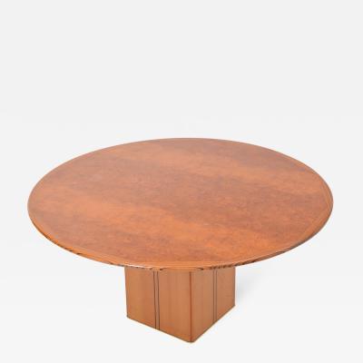 Afra Tobia Scarpa Tobia and Afra Scarpa Artona Burl wood Dining table for Maxalto