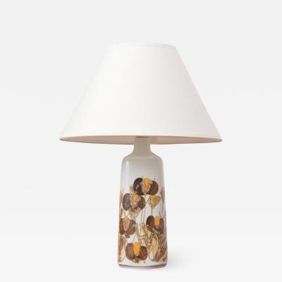 Ellen Malmer Danish Faience Table Lamp by Ellen Malmer from Royal Copenhagen 1960s