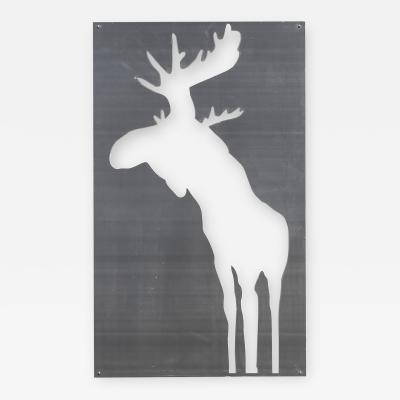 Charles Pachter Moose Relief I