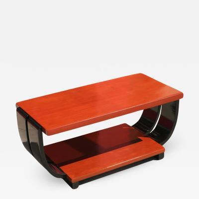 Brown Saltman Art Deco Mahogany Coffee Table by Brown Saltman