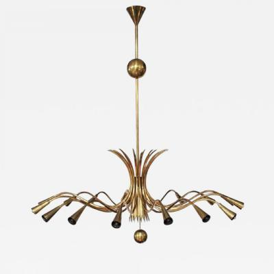 Guglielmo Ulrich GUGLIELMO ULRICH ceiling lamp circa 1950 Italy