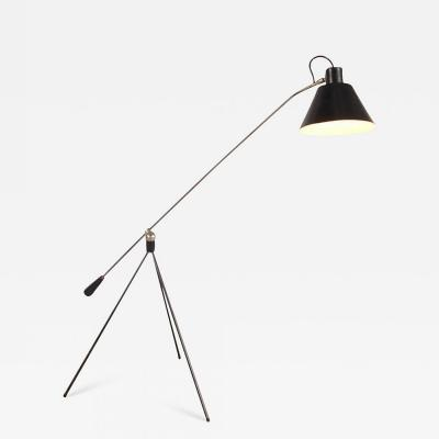 H Fillekes 1954s Floor Lamp Magneto by H Fillekes for Artifort