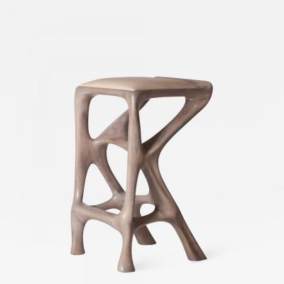 Amorph Amorph Chimera Bar Stool Stained Gray Oak Counter Height