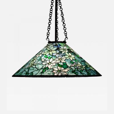 Tiffany Studios Hanging Clematis Shade