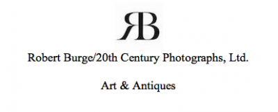 Robert Burge 20th Century Photographs