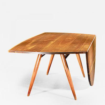 George Nakashima George Nakashima Drop Leaf Table 1966