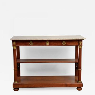 Empire Console Table France 1810 20