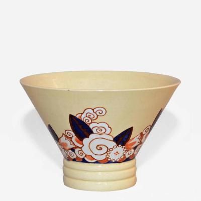 Jacques Adnet Ceramic Bowl by Jacques Adnet for Lusca France c 1925