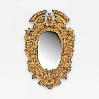 Edward F Caldwell Co Caldwell lighting American Victorian Style Gilt Bronze Wall Mirror