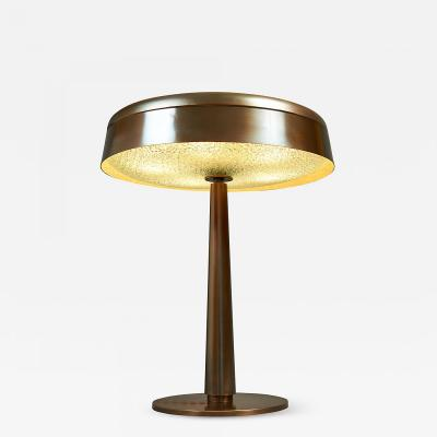 Fontana Arte Fontana Arte Bronzed Table Lamp Italy ca 1960