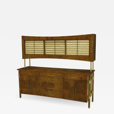 Rare Harold Schwartz Romweber Sideboard With Floating Cabinet