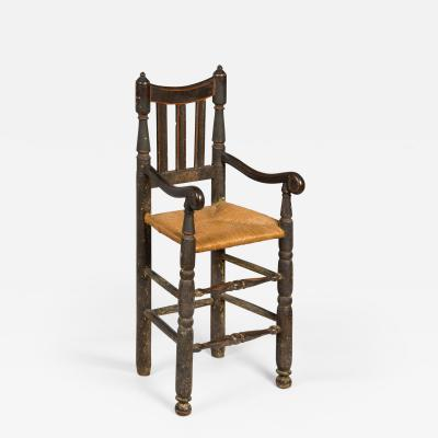 Bannister Back High Chair