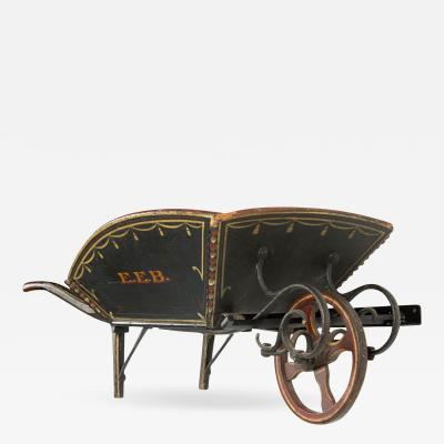 A Tremendous Childs Wheelbarrow from Maine ca 1840 1870