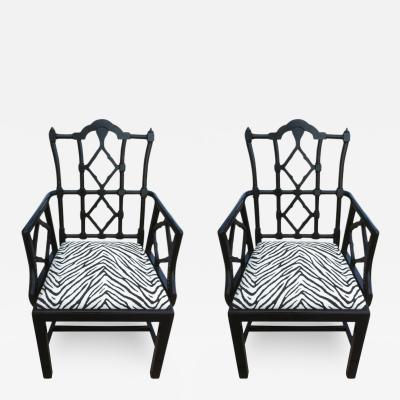 Frances Elkins Pair of Frances Elkins Chairs