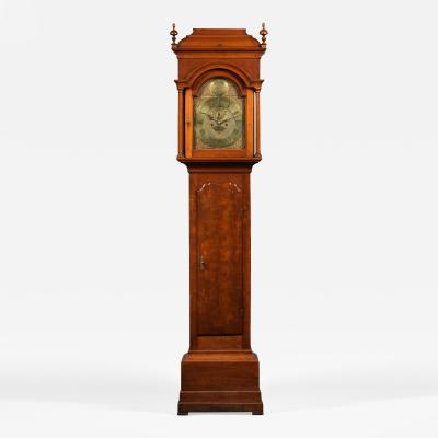 Nathaniel Mulliken QUEEN ANNE TALL CASE CLOCK