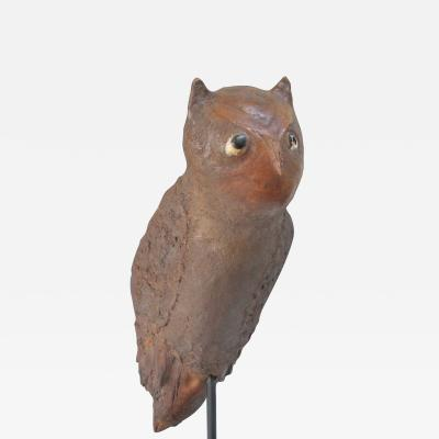 Owl Folk Sculpture c 1920s 1940s
