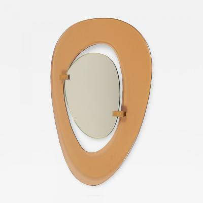 Fontana Arte Mirror by Fontana Arte Italy 1950s