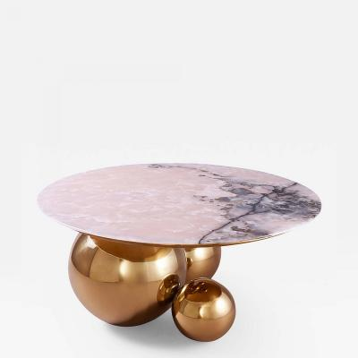 Studio MVW JinShi Pink Jade Coffee Table