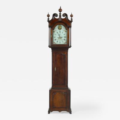 An Eight Day Walnut Tall Case Clock Circa 1795