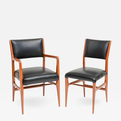 Gio Ponti A Fine Set of 12 Italian Modern Dining Chairs Gio Ponti