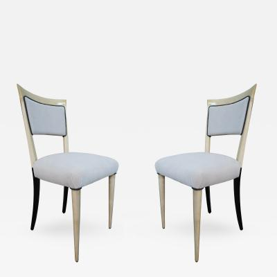 Paolo Buffa 4 Chairs attributed to Paolo Buffa Italy 1950