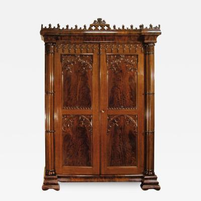 Gothic Armoire about 1840 49