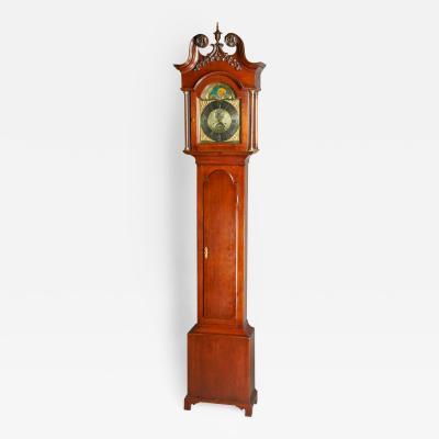 Rudolph Spangler Tall Case Clock by Rudolph Spangler York Township circa 1770