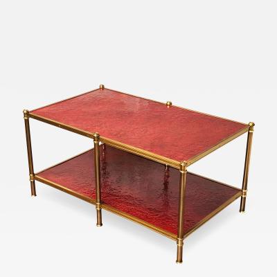 Cole Porter Coffee Table Molten Gypsum
