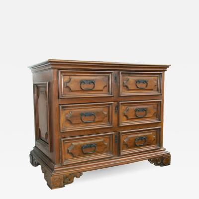Northern Italian Walnut Chest of Drawers Circa 1820