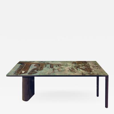 Philip and Kelvin LaVerne Philip Kelvin LaVerne Rare Surrealist Coffee Table 1960s