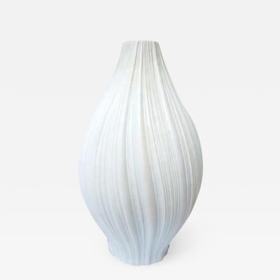 Rena Rosenthal White Sculptural Vase Rosenthal Studio Line Martin Frayer