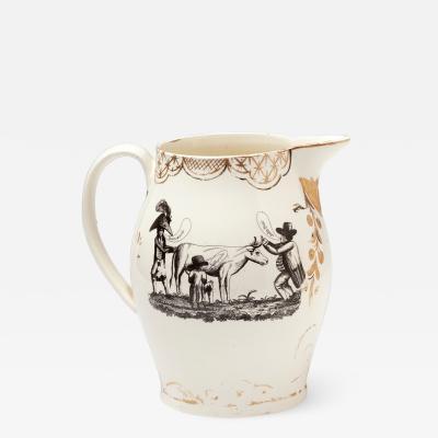 Herculaneum Pottery Creamware Jug