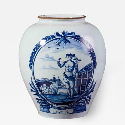 Rappe Delft Tobacco Jar