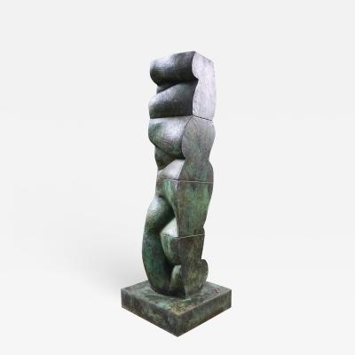 Tanya Ragir Tanya Ragir Vertical Landscape I Bronze Limited Edition of 9