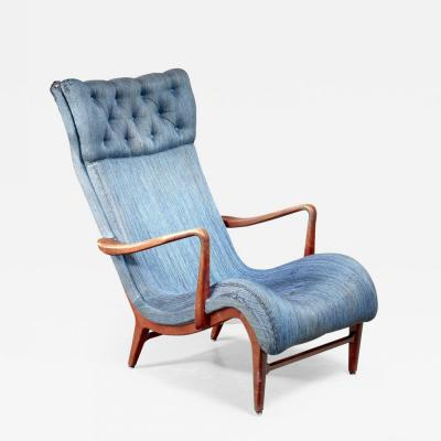 Carl Cederholm Carl Cederholm easy chair Sweden 1940s