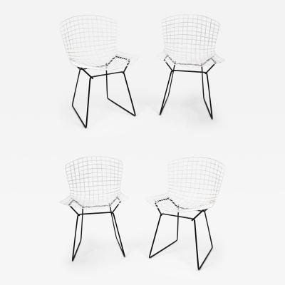 Harry Bertoia Set of 4 Harry Bertoia for Knoll Vintage Side Chairs