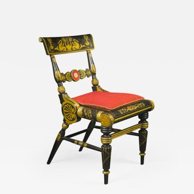 Fancy Side Chair in the Neo Classical Taste