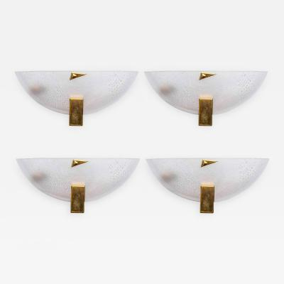 Barovier Toso Set of Four Barovier Toso Wall Sconces