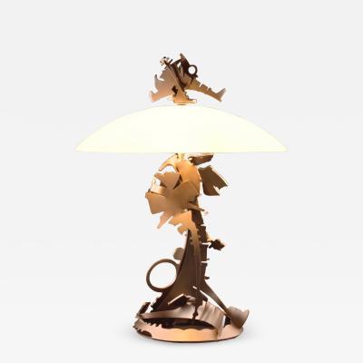 Albert Paley Dragons Back Table Lamp 1999