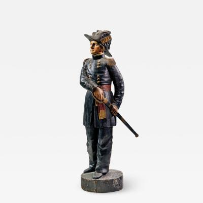 Military Figure Trade Sign c 1870