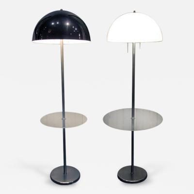 Nessen Studios Two Vintage Midcentury Floor Lamps by Nessen Studio