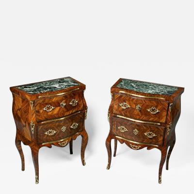 Pair of Italian Rococo Commodes