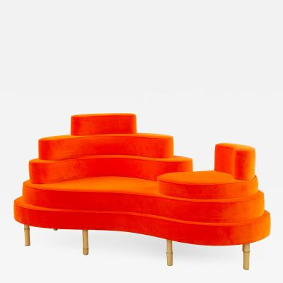 Sebastian Menschhorn Kohlmaier Manufaktur BATIKI chaiselongue insular sofa or sofa islet