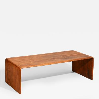 Arthur Espenet Carpenter Early Arthur Espenet Carpenter Coffee Table c 1969